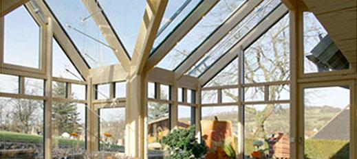 Wintergärten von Glas Eschbach